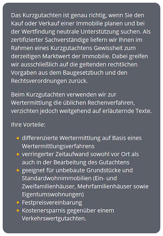 Marktwertgutachten erstellen lassen aus  Schorndorf